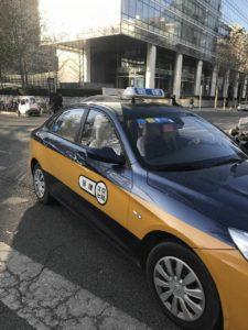 北京のタクシー画像