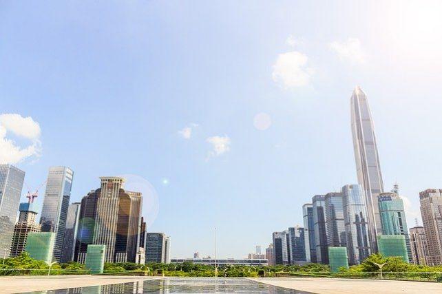 深圳の高層ビル